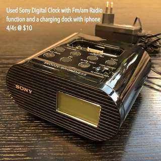 Digital clock and Radio
