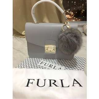 (情人節之選💕)全新furla metropolis top handle with bubble