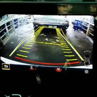 Motorised Mercedes Rear View Camera System for A/B/C/E/GLA/GLC Class 2015 onwards.