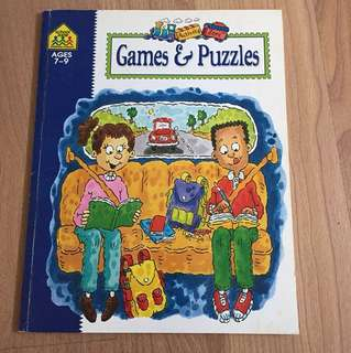 Game and puzzles by school zone- clearance