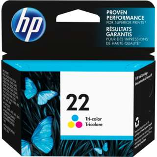 HP 22 C9352AA Ink Cartridge (Tri-Color)