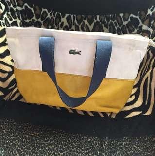 Lacoste Two Tone Medium Tote Bag