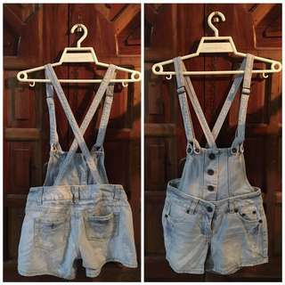 Jumper(removable straps, can be worn as shorts)