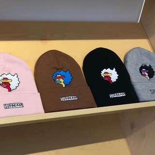 Supreme人頭冷帽