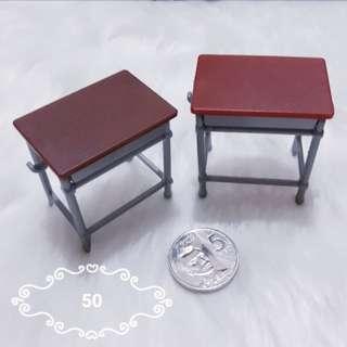 Mini school desks