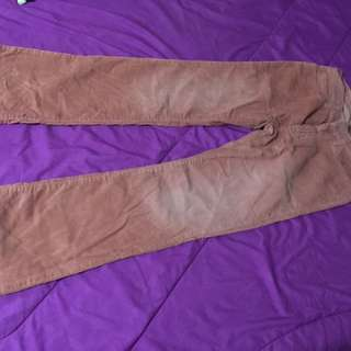GAP jeans corduroy flare