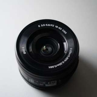 Sony E16-50mm f3.5-5.6 oss