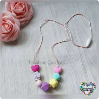 Beads Necklace / Teething Necklace (7 beads)