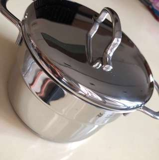 Brand New WMF Stainless Steel Cooking Pot Mini-014 (14cm)