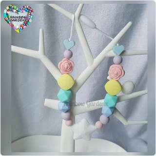 Pastel Beads Carrier Accessory
