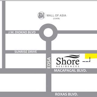 Shore Residences in Mall of Asia Complex Pasay City