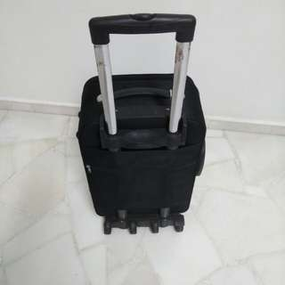 Luggage Bag black 20 x 15 x 7 ""