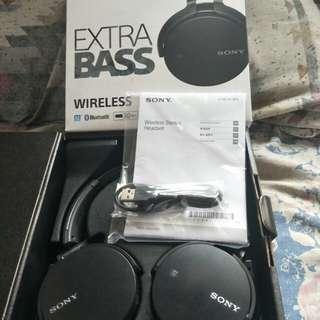 Sony E55BT bluetooth headphone
