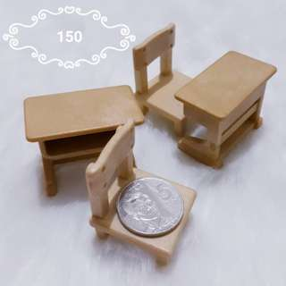 Mini school chair and desk set