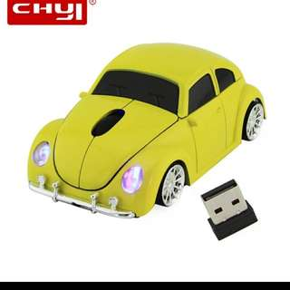 Vintage car wireless mouse great for gifts!