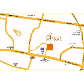 Cheer Residences Beside SM Marilao Bulacan