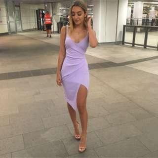 Lilac dress- PLT