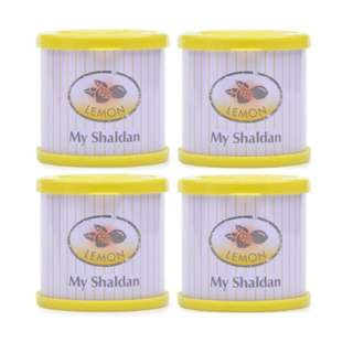 My Shaldan Lemon Car Freshener Bundle of 4 (Yellow)