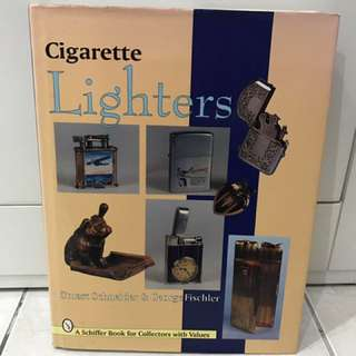 Vintage Cigarette Lighters Collectible Guide Book
