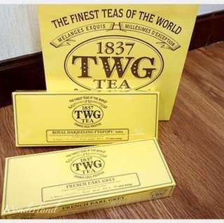 新加坡茶葉品牌TWG Tea🍵號稱是全球最好的茶TWG Tea 茶包🍃米其林指定用下午茶貴婦級散裝🎊特價一組10包