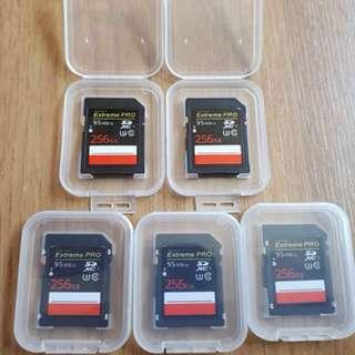 SD Card 256GB