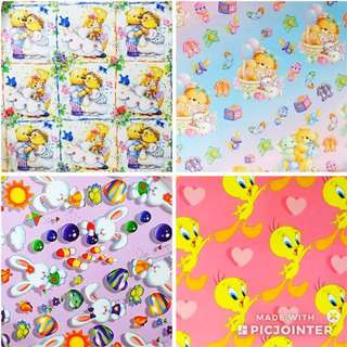Wedding / baby shower wrapping paper