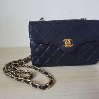 Chanel vintage 中古細袋