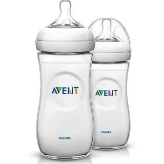 Philips AVENT Natural Range 330ml (11oz) Twin Bottles
