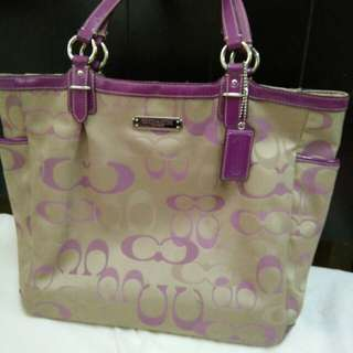Coach Optic Tote bag