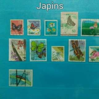 1 lot of Japanese stamps