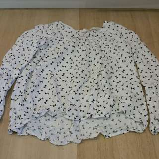 Pre-loved H&M cotton long sleeves for age 8 and above.