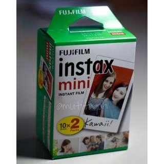Refill film instax mini, double pack