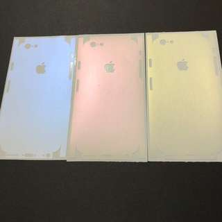 IPhone Series Full-coverage back change color protector