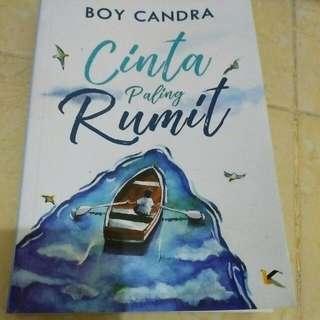 Novel Boy Candra Cinta Paling Rumit