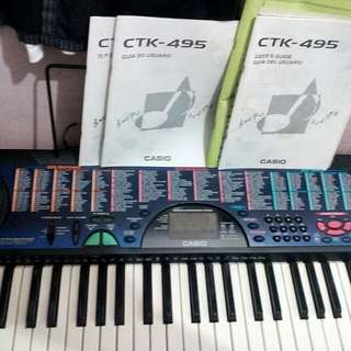Keyboard Casio CTK-495
