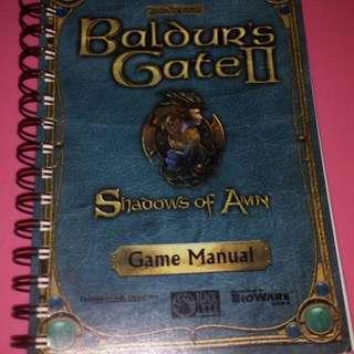 Baldurs gate game manual #Huat50Sale