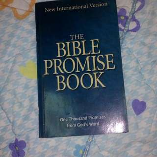 The bible promise book #Huat50Sale