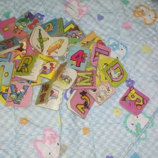 All for $2 Tiny alphabet and numbers book #Huat50Sale