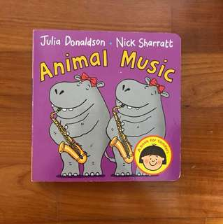 Animal Music by Julia Donaldson