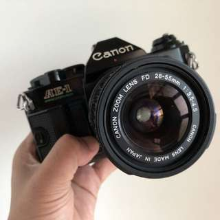 Canon AE-1program 28-55mm f3.5-4.5