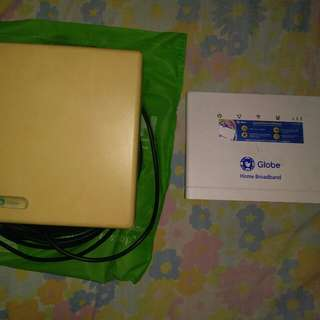 Globe Router and antenna