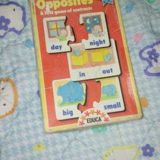 Opposite puzzle #Huat50Sale