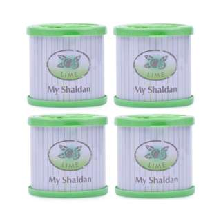 My Shaldan Lime Car Freshener Bundle of 4 (Green)