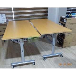 FOLDABLE TRAINING TABLES & MESH CHAIRS--KHOMI