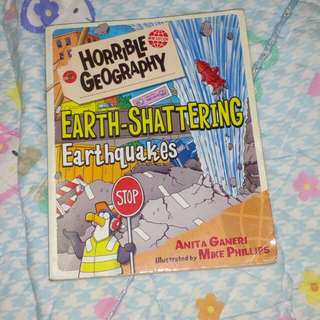 Horrible geography earth shattering earthquakes  #Huat50Sale