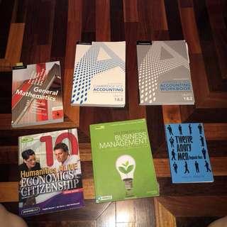 Books year 11&10