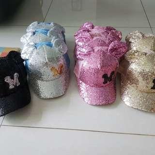 Mickey Minnie caps for kids