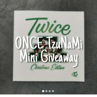 Repost: Once Tzunami giveaway