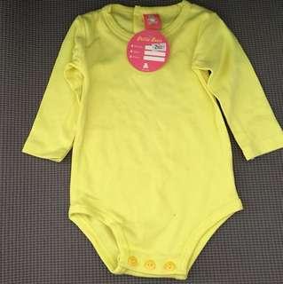 Yellow Baby Romper