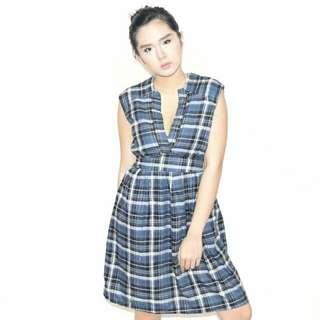 A.T.'s Checkered Dress